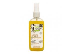 SO´BiO étic Olej odličovací anti-age Precieux argan BIO 150 ml