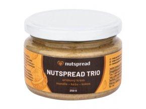 Nutspread Krém z mandlí, kešu ořechů a kokosu 250 g