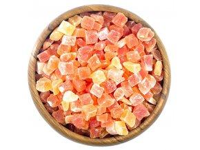 Zdravoslav Papaya kostky s cukrem 500 g