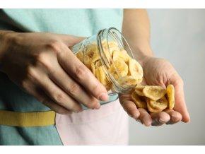 Zdravoslav Banánové chipsy 500 g