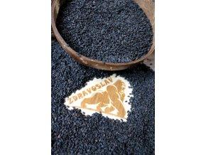 Zdravoslav Sezam černý neloupaný 500 g