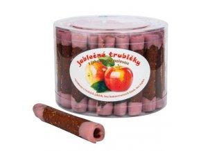 B. PRODUKT Trubičky jablečné s jahodovým jogurtem dóza 450 g