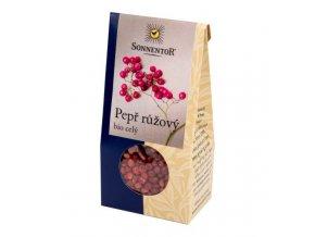 Sonnentor Pepř růžový celý BIO 20 g