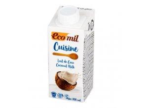 Ecomil Kokosová alternativa smetany 7 % tuku BIO 200 ml