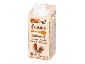 Ecomil Mandlová alternativa smetany s muškátovým oříškem 9 % tuku BIO 200 ml