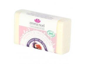 Emma Noël Mýdlo rostlinné fíkové mléko BIO 100 g