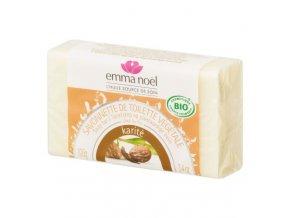 Emma Noël Mýdlo rostlinné karité BIO 100 g