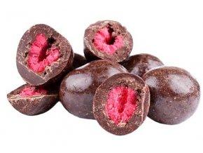 Zdravoslav Mrazem sušené maliny v hořké čokoládě 250 g