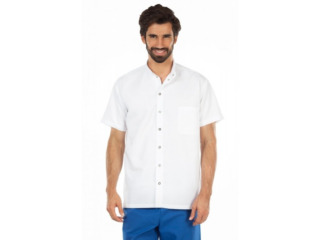 Košile FILIP (Barva Lyocell - Oranžová, Pán. OH Na zakázku - 46 (90-94 cm))