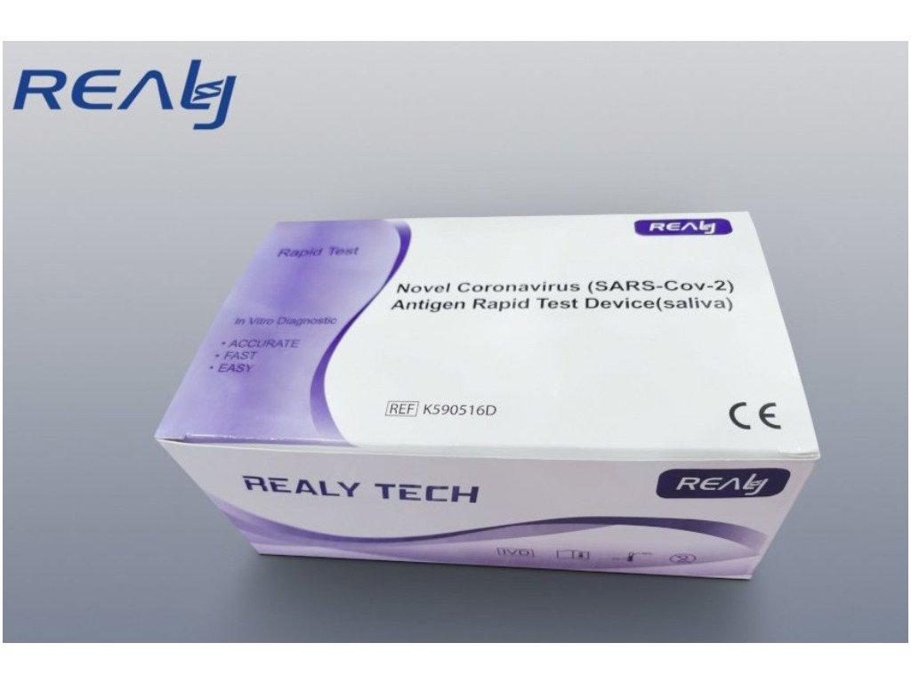 HANGHZOU REALY TECH antigenní test - výtěr ze slin