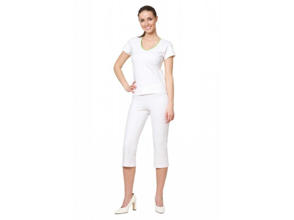 3/4 kalhoty AKTIV (Dám. OB XL (110-118 cm), Barva Úplet fresh - Růžová (na zakázku))