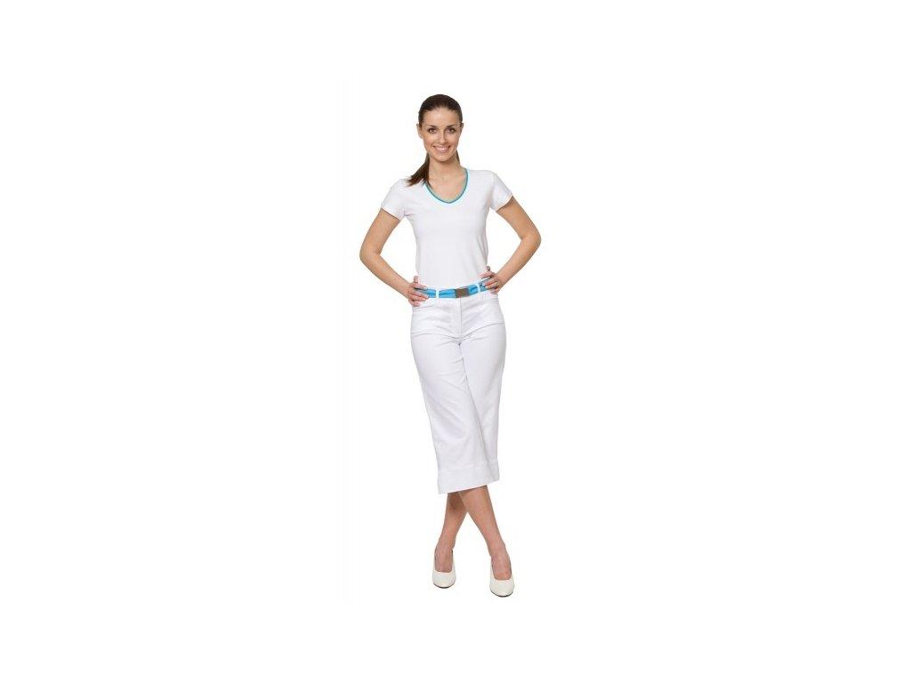 3/4 kalhoty KATKA s elastanem (Dám. OB Na zakázku - 56 (128 cm))