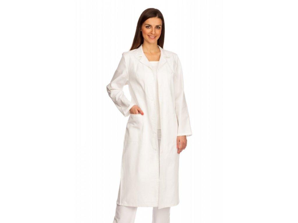 D15-1 dámský doktorský plášť (Dám. OH Na zakázku - 60 (128 cm), Barva Kepr odlehčený - Mentolová)