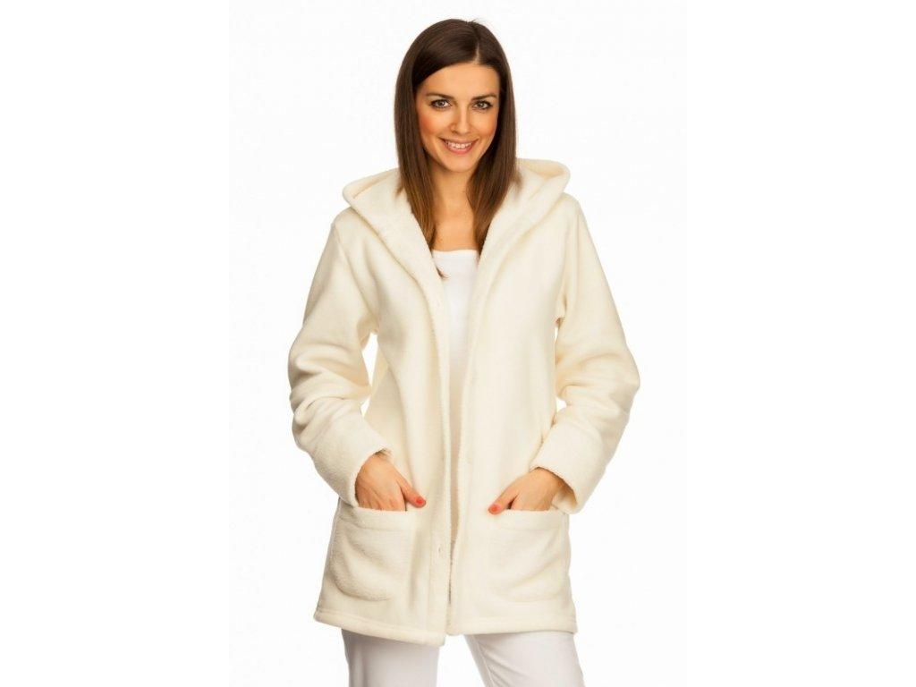 Kabátek MÍŠA polar (Dám. OH XL (102-110 cm), Barva Fleece - Tmavě modrá (na zakázku))