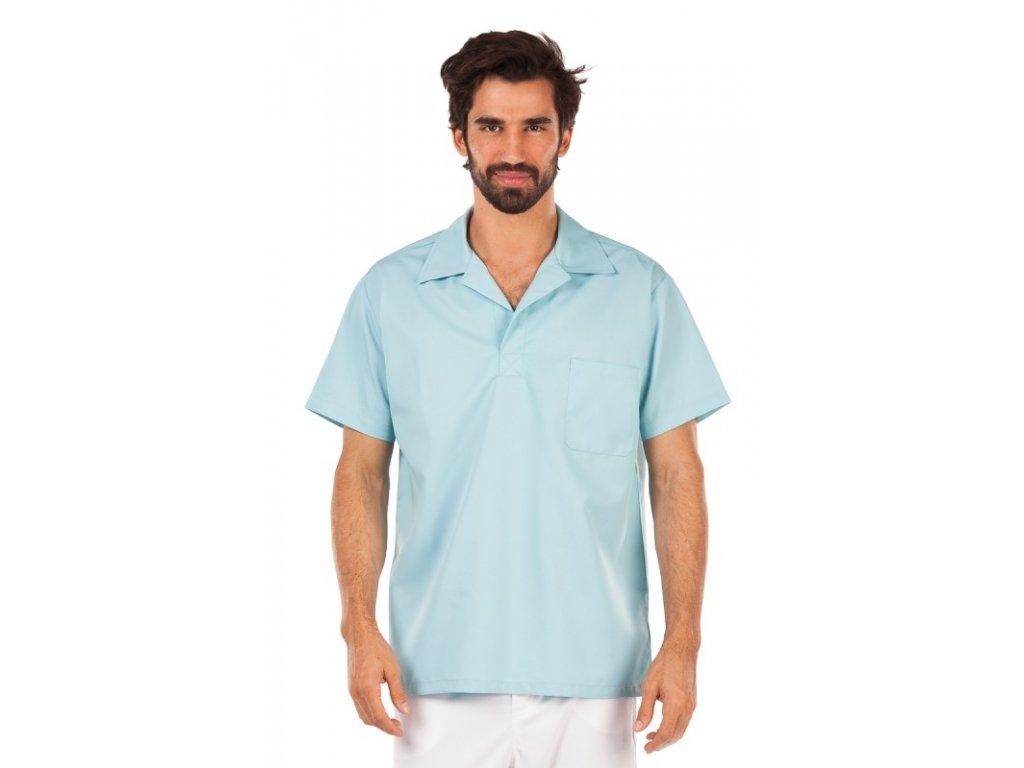 Košile MIREK (Barva Lyocell - Oranžová, Pán. OH Na zakázku - 46 (90-94 cm))