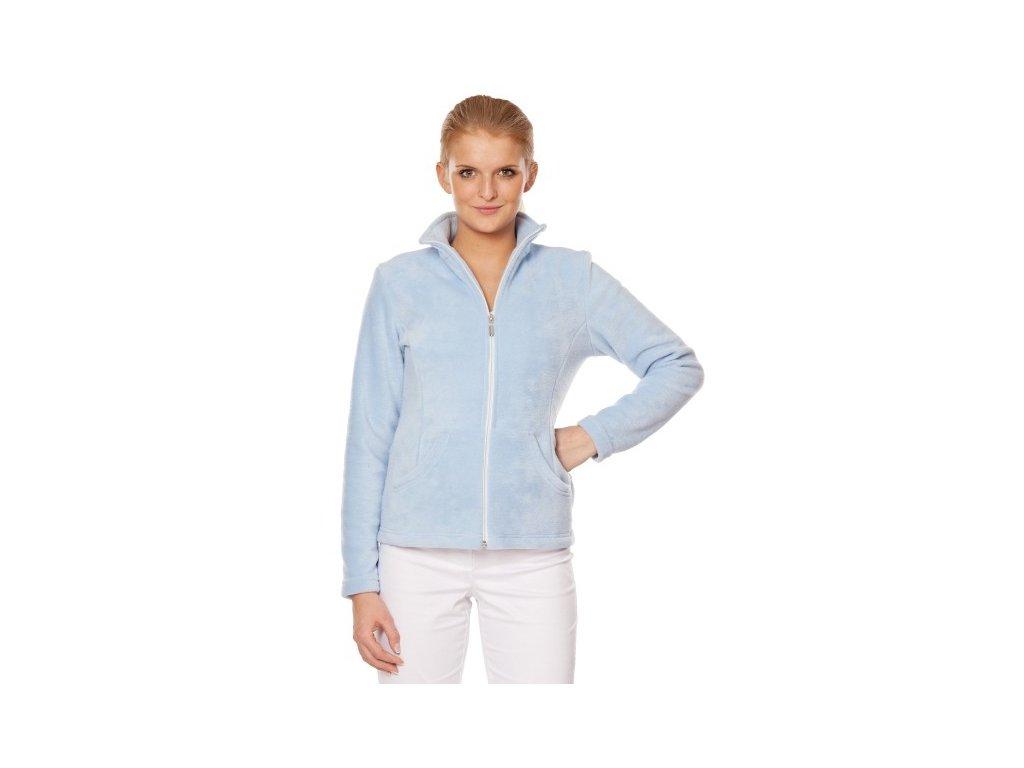 Mikina DANA (Dám. OH XL (102-110 cm), Barva Fleece - Mentolová (na zakázku))