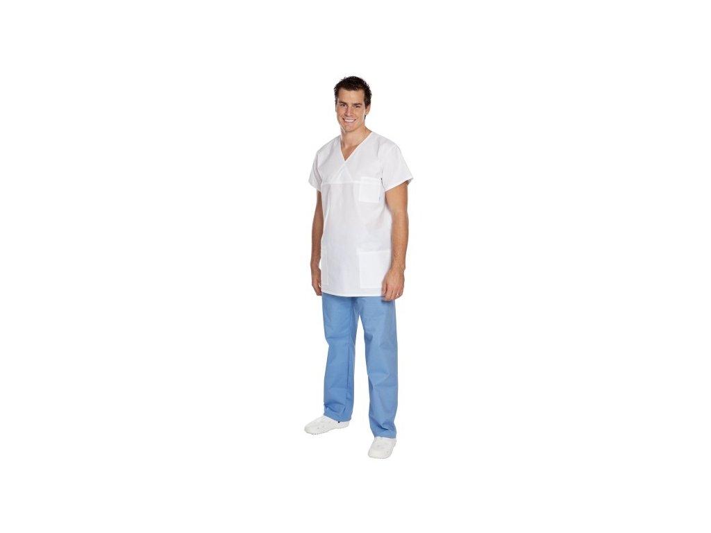 S2 pánské operační kalhoty (Pán. OP XL (92-102 cm), Barva Plátno - Bílá)