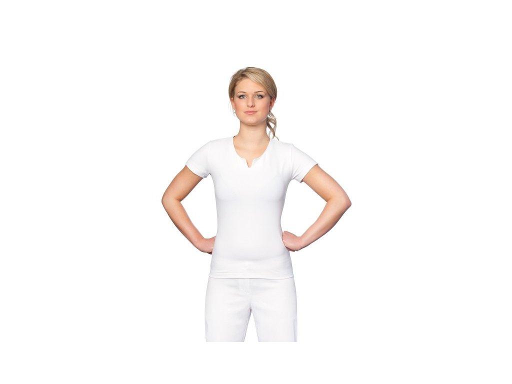 Triko AGÁTA Coolmax® (Dám. OH XL (102-110 cm), Barva Coolmax fresh - Bílá)