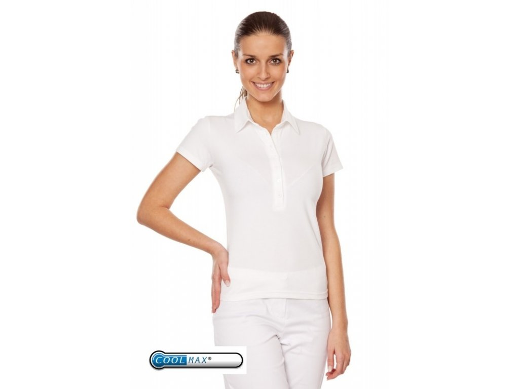 Triko JITKA Coolmax® (Dám. OH XL (102-110 cm), Barva Coolmax fresh - Bílá)
