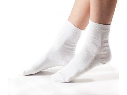 Ponožky dámské (Rozměr 7 - 8, Barva Černá)