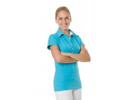 Triko SAŠA fresh barevné (Dám. OH XL (102-110 cm), Barva Úplet fresh - Růžová (na zakázku), Barva doplňku Úplet - Bílá)