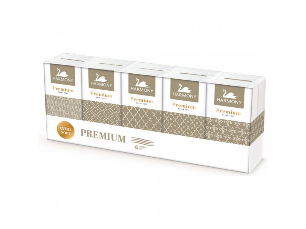 Harmony papírové kapesníky prima 10 x 9B