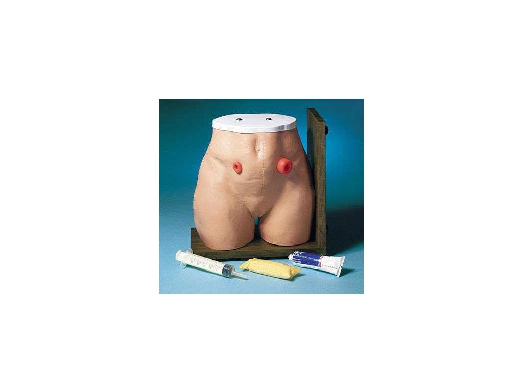 Simulátor pro péči o stomie
