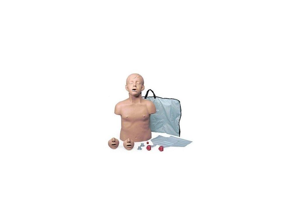 Brad Jr.- figurína sedmiletého dítěte s přenosným vakem