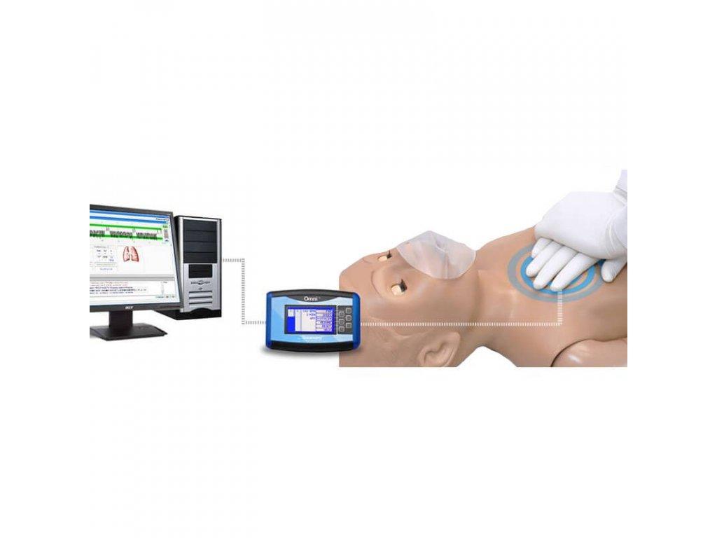 S154 Simulátor pro výuku CPR a traumatické péče – pětileté dítě + Omni Code Blue Pack