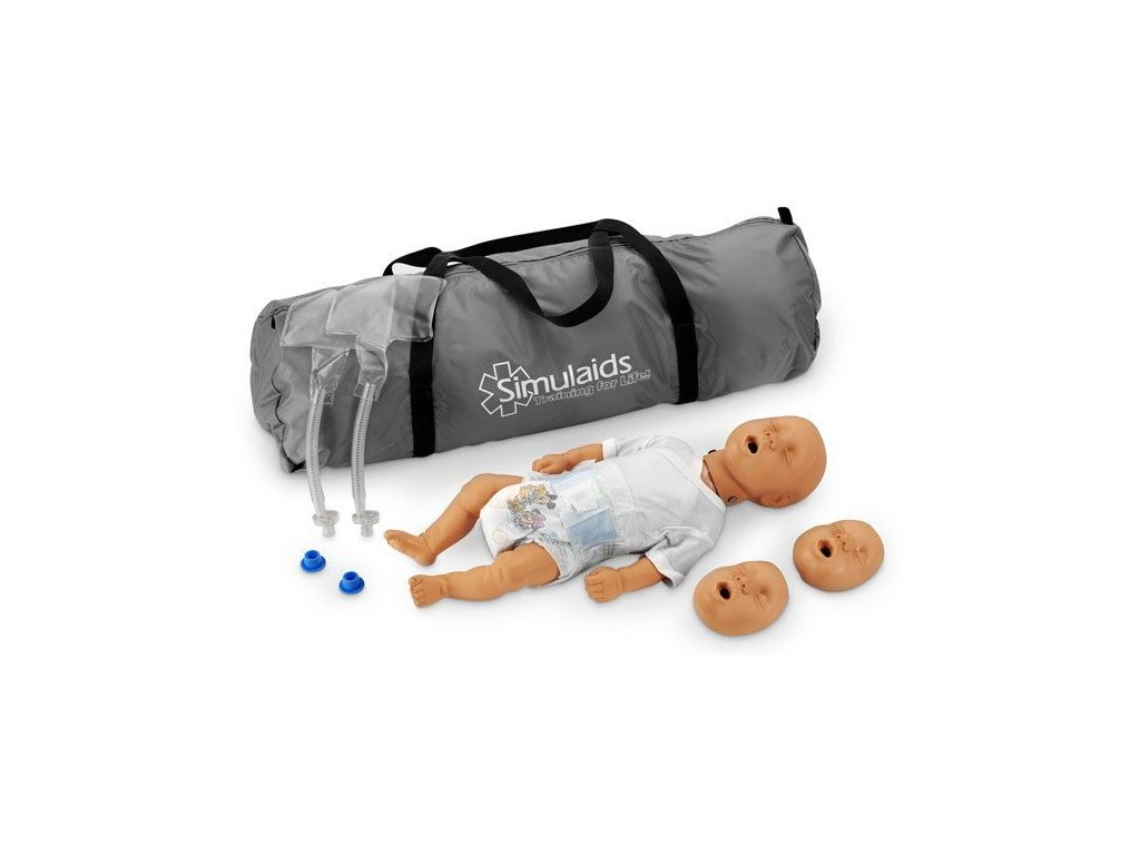 Resuscitační figurína novorozence KIM s přenosným vakem