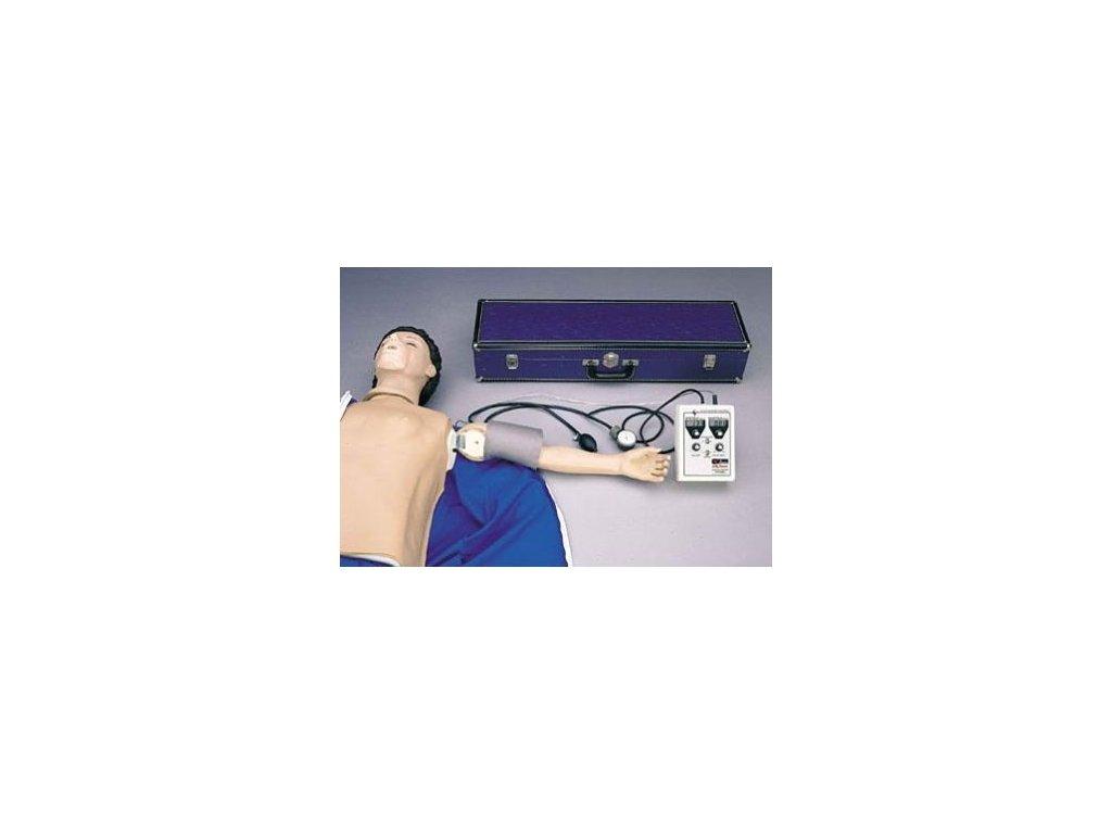 Simulátor krevního tlaku pro resuscitační figuríny