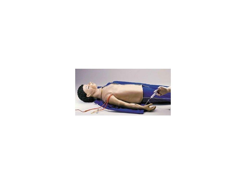 Paže pro nácvik injekce pro resuscitační figuríny