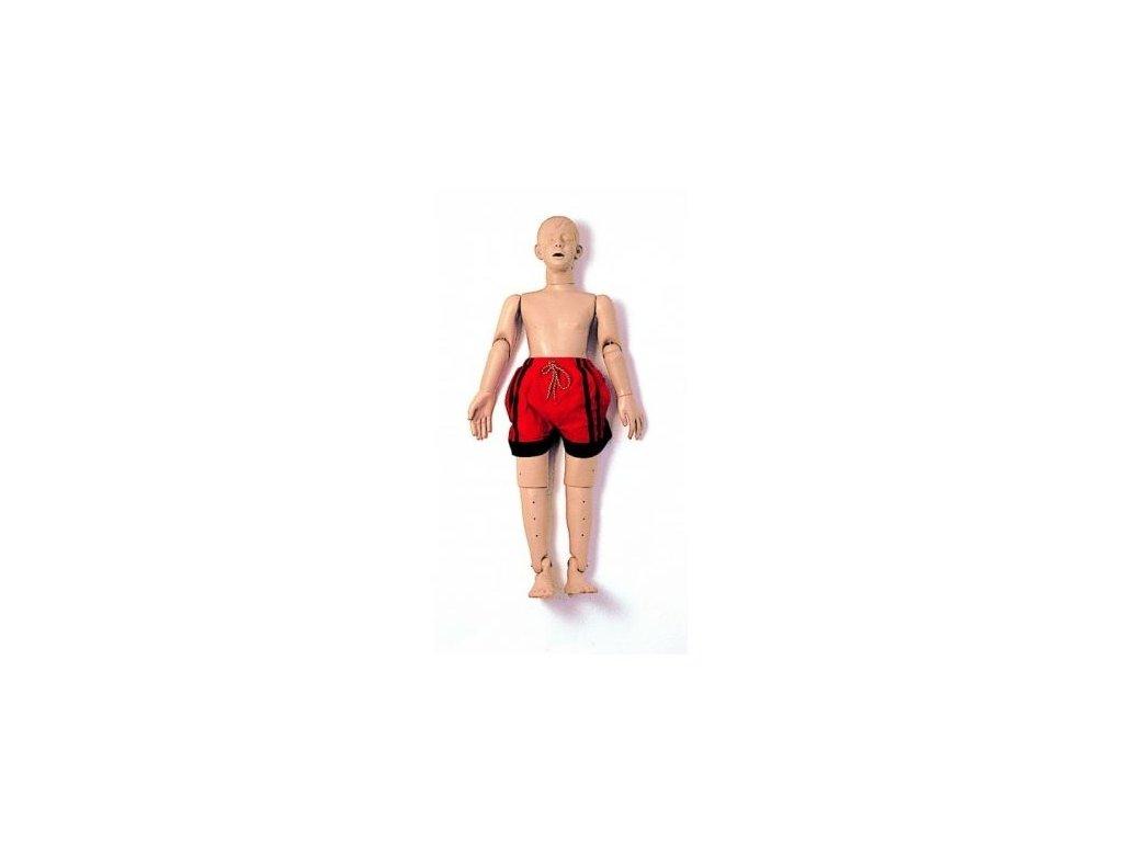 Vodní záchranářská figurína dospívajícího