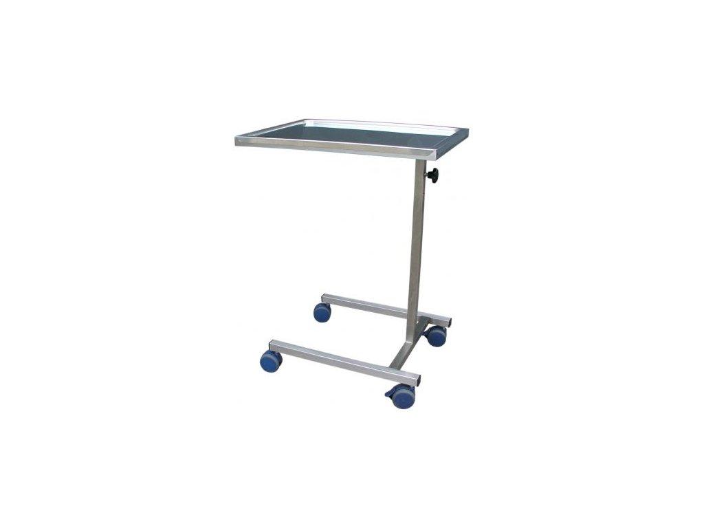 Nástrojový stolek nerezový s nastavitelnou výškou