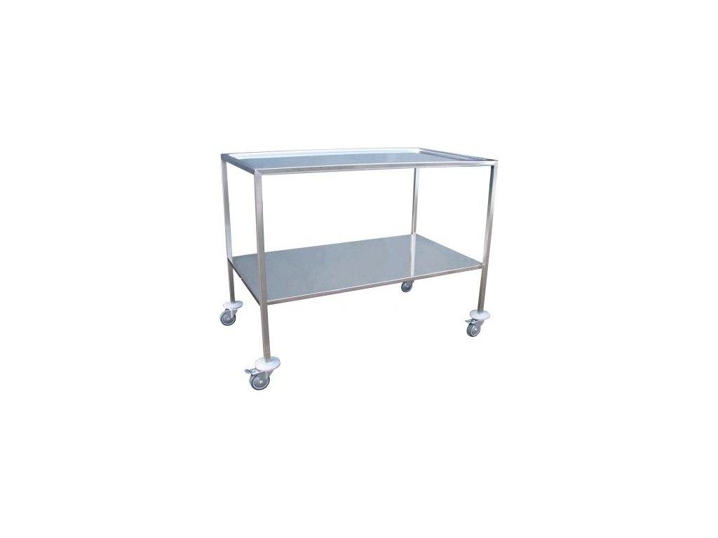 Nástrojový stolek nerezový se 2 platy typ 2