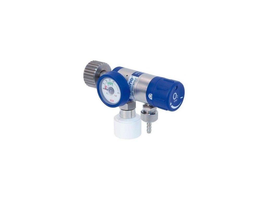 Redukční ventil Mediselect II 25 l O2 QC s rychlospojkou
