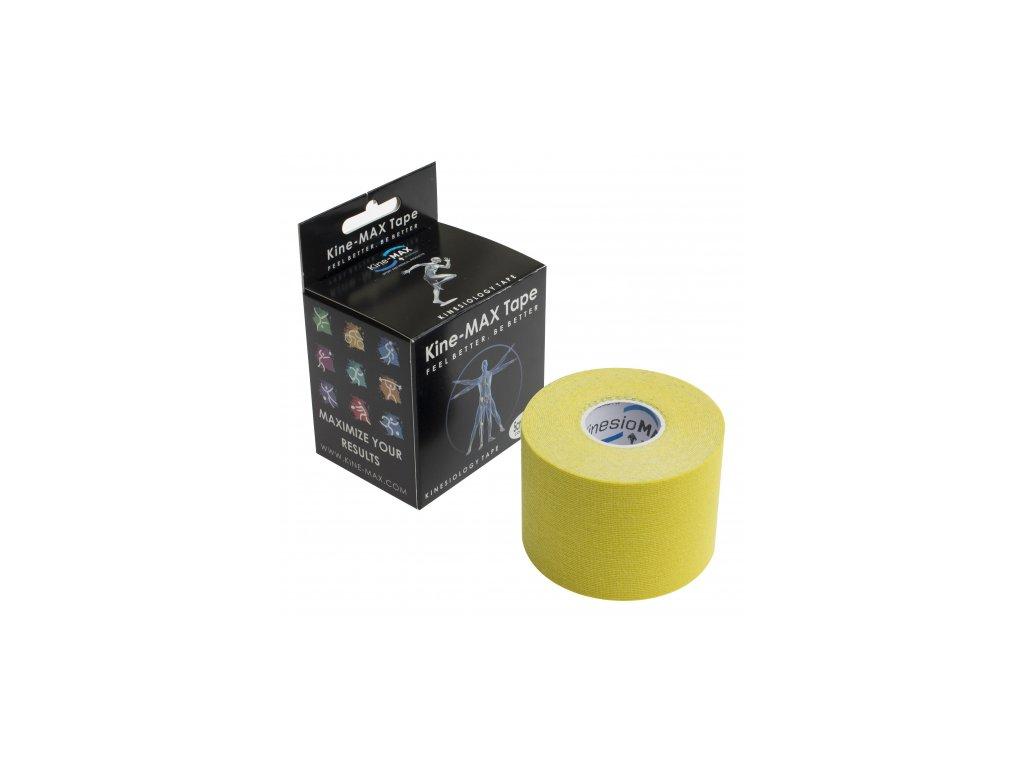 Kine-MAX Tape Classic - Kineziologický tejp žlutý