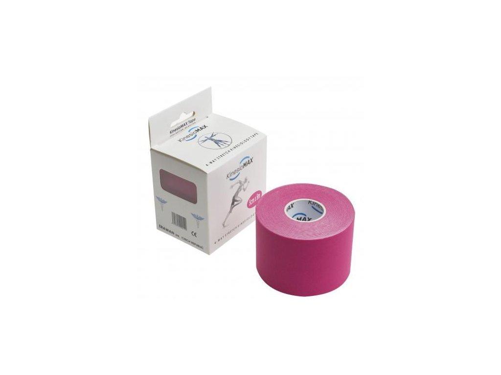 Kine-MAX 4Way Stretch Tape - Dynamický tejp růžový