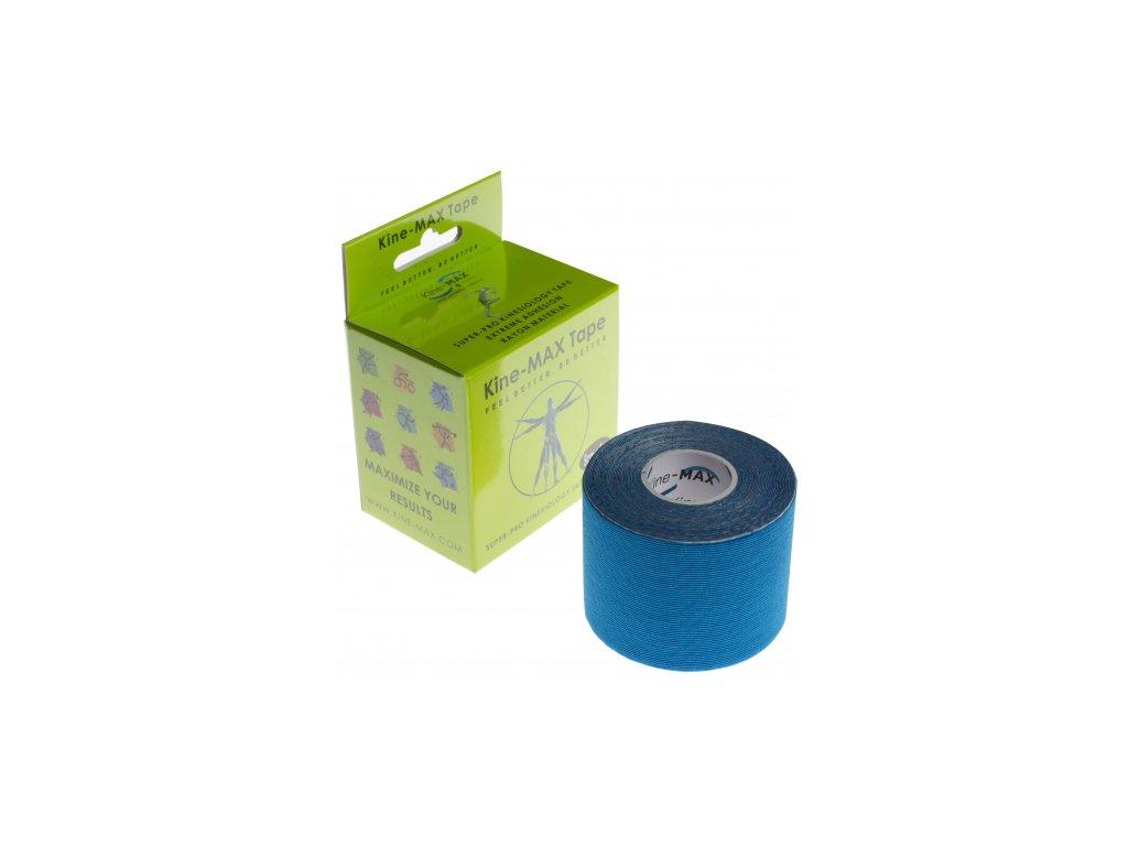 Kine-MAX Super-Pro Rayon - Kineziologický tejp modrý