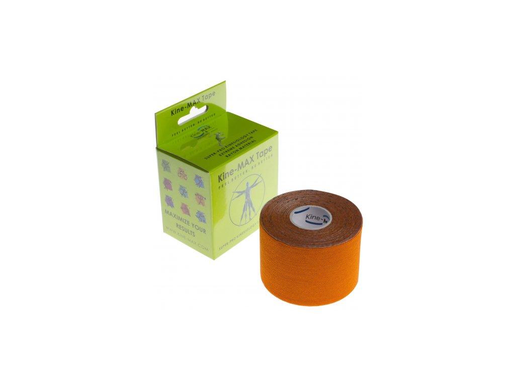 Kine-MAX Super-Pro Rayon - Kineziologický tejp oranžový