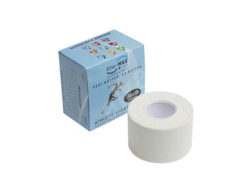 Kine-MAX Sport Tape - Neelastická tejpovací páska Full Coat 3,8cm x 10m bílá
