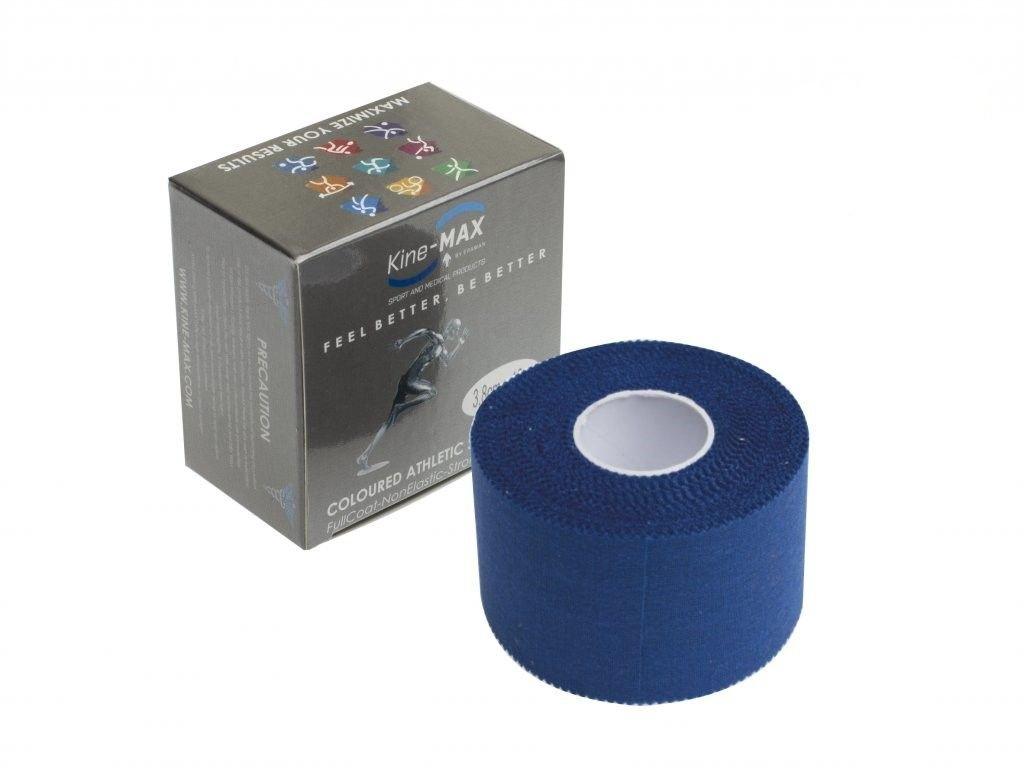 Kine-MAX Team Tape - neelastická tejpovací páska 3,8cm x 10m modrá
