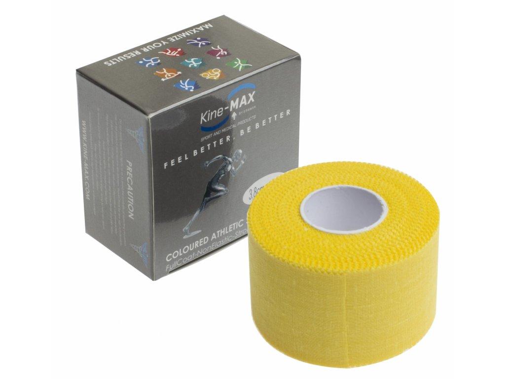 Kine-MAX Team Tape - neelastická tejpovací páska 3,8cm x 10m žlutá
