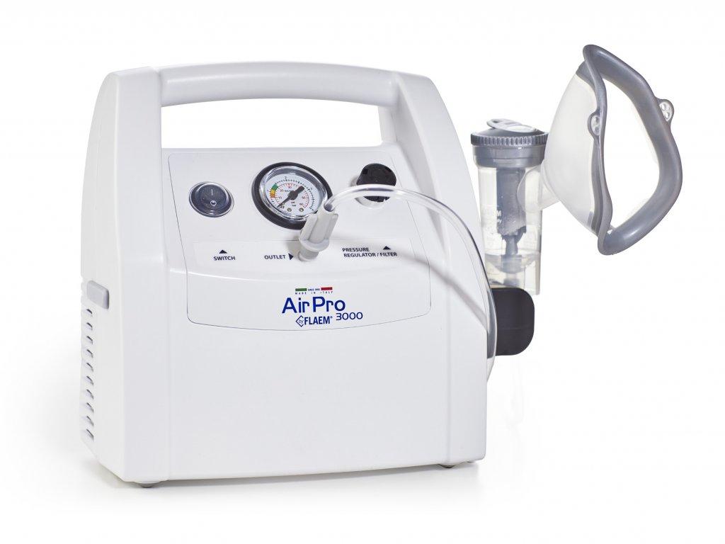 Inhalátor AIR PRO 3000 - s regulací průtoku