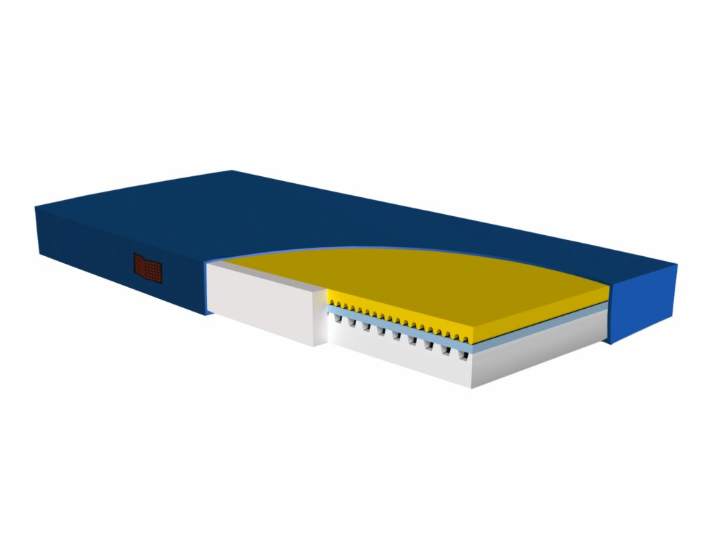 Antidekubitní matrace MemoCare 90 x 200 cm