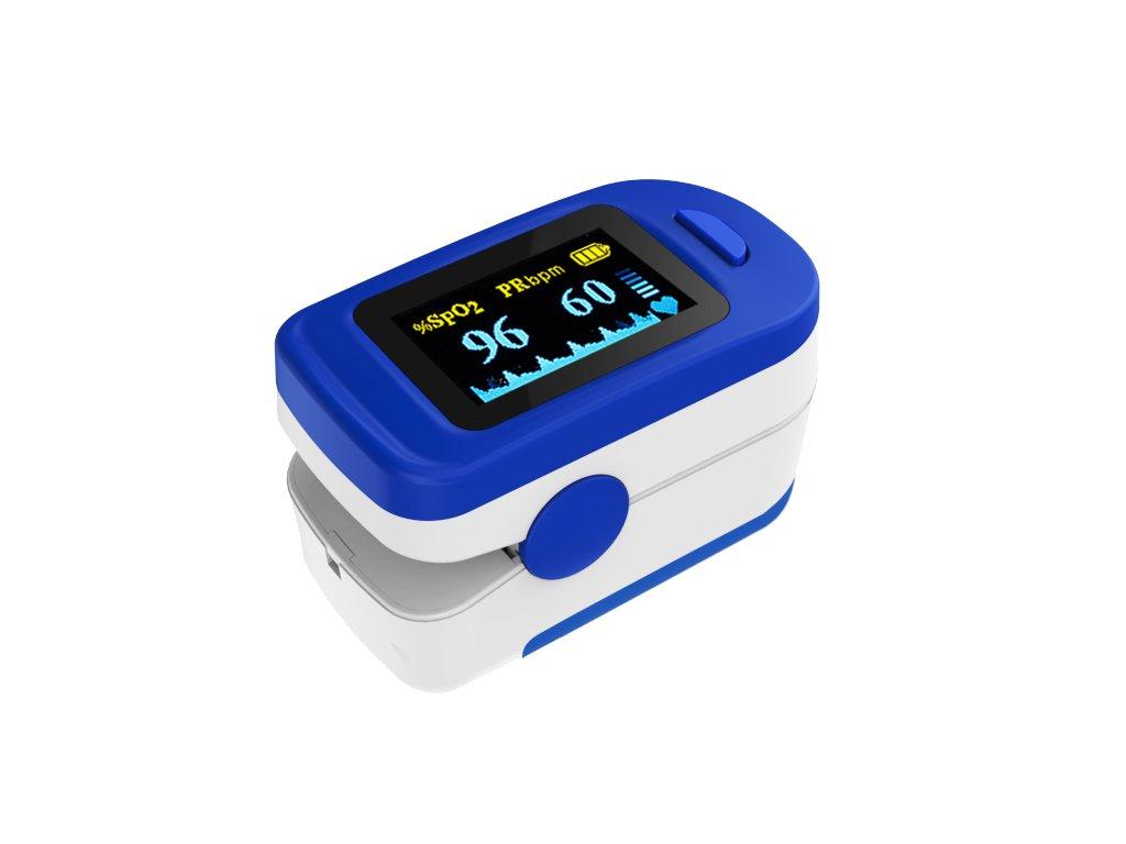 Prstový pulsní oxymetr