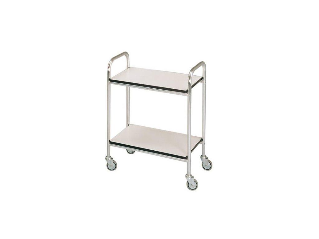 Víceúčelový vozík hliníkový bez zábradlí 40x60x80 cm