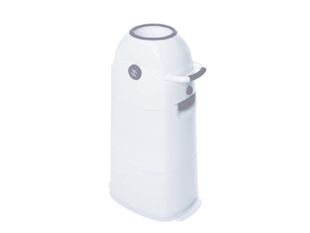 Diaper Champ Koš na plenky Medium stříbrný