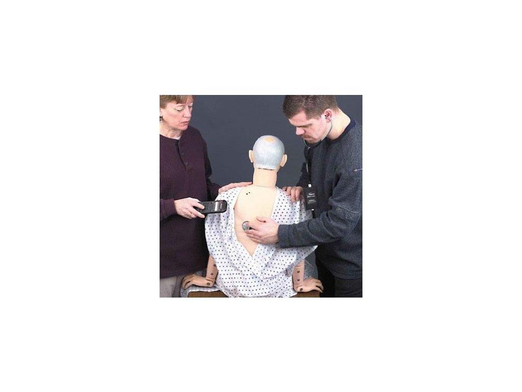 Rozšíření figuríny Geri pro nácvik auskultace