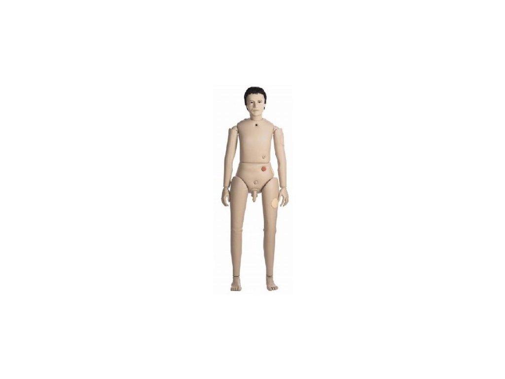 Cvičná mužská výuková figurína Bedford vyšší kategorie